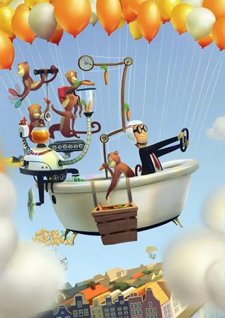 Создать папку: 5 успешных российских иллюстраторов рассказывают о портфолио. Изображение №48.