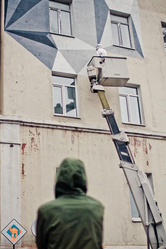 Процесс росписи стены от Alexey Kio. Изображение № 24.
