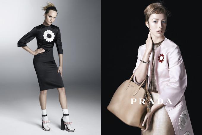 Вышла кампания Prada с Пивоваровой и Зиммерманн. Изображение № 1.