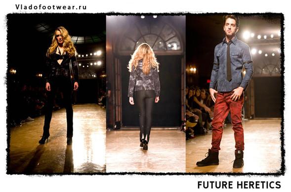 Vladofootwear & Future Heretics Показ 2009. Изображение № 10.