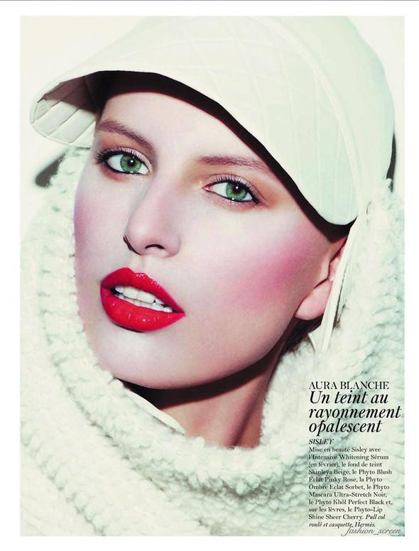 Съёмка: Аризона Мьюз, Каролина Куркова, Наташа Поли и другие для французского Vogue. Изображение № 4.