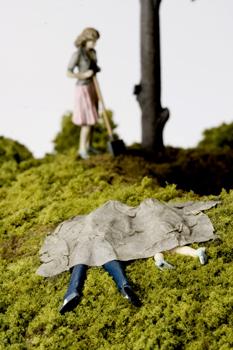 Нетрадиционный подход кфигуркам встеклянном шаре. Изображение № 39.