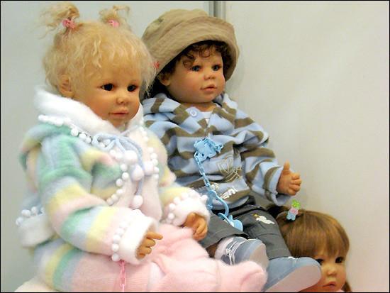 Немецкие куклы-дети Герлинде Фезер иДорис Штаннат. Изображение № 2.