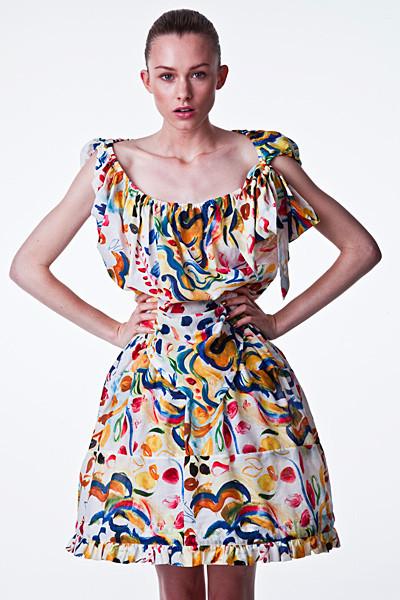 Лукбук: Vivienne Westwood Anglomania SS 2012. Изображение № 4.