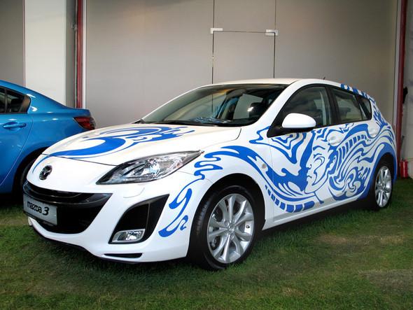 Битва дизайнеров залучшую раскраску новой Mazda3. Изображение № 1.
