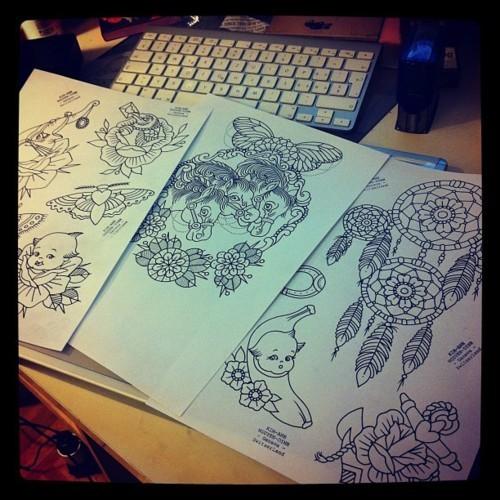 Kim-Anh Nguyen-Dinh : От рисунка к татуировке. Изображение № 1.