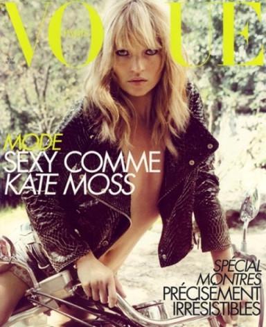 Кейт Мосс, наобложках главных модных журналов планеты. Изображение № 17.