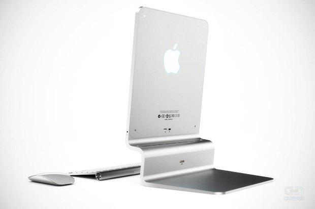Концепт: современный iMac в стиле Macintosh 128K 1984 года. Изображение № 6.