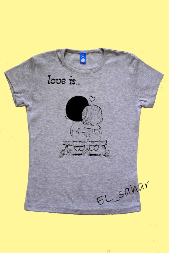 Elsaharova: половинчатые футболки на 14 февраля. Изображение № 20.