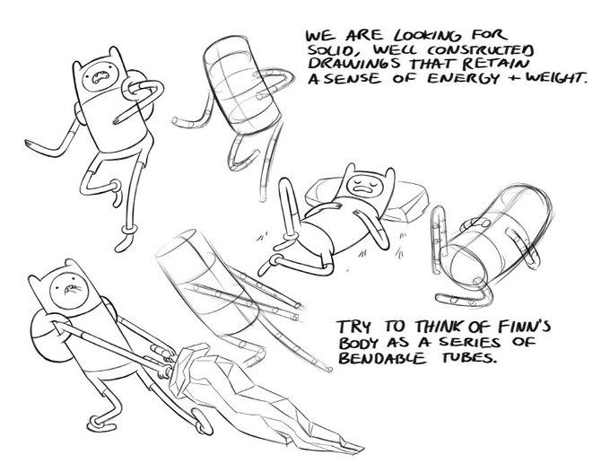 Опубликован мануал по рисованию героев Adventure Time . Изображение № 1.