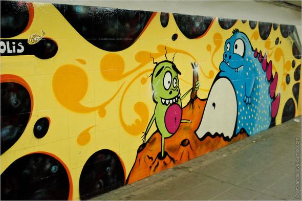 Стрит-арт и граффити Риги. Изображение № 14.