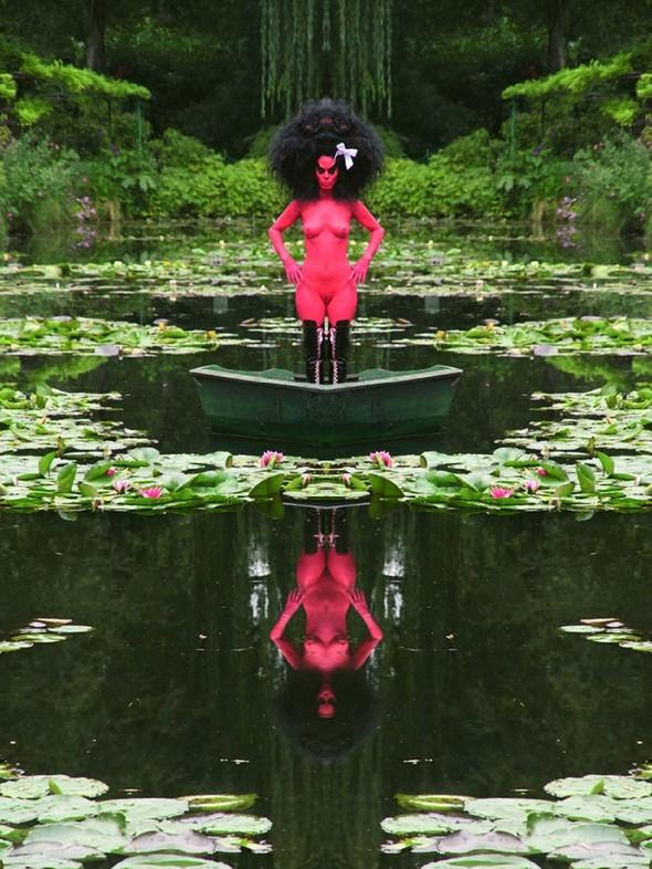 Съемка в стиле киберпанк: Незваный гость в райском саду. Изображение № 2.