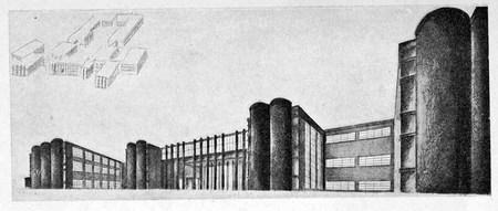 Архитектурные конкурсы 1923–1926 г.вСССР. Изображение № 12.