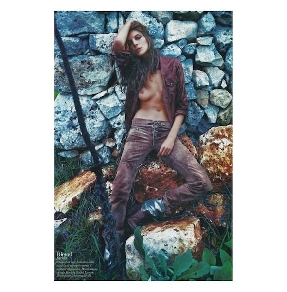Изображение 54. Съемки: Harper's Bazaar, Industrie, Vogue и другие.. Изображение № 101.