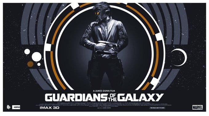 Опубликованы 44 фанатских постера к «Стражам Галактики». Изображение № 22.