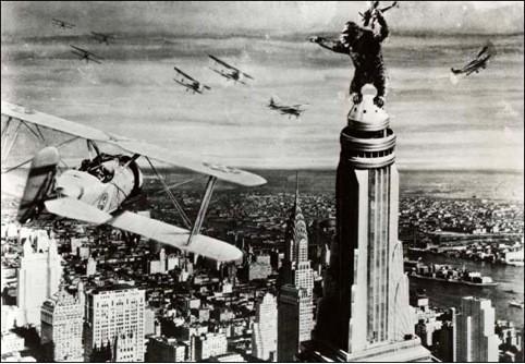 Кадр из фильма «Кинг-Конг», 1933 г.. Изображение № 23.
