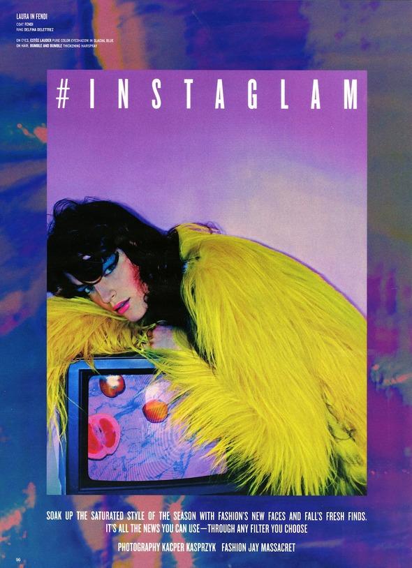 Стоп-кадр: Новые съемки Love, Russh, Vogue и V. Изображение № 77.