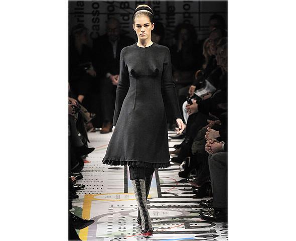Показ Prada на Неделе моды в Милане. Изображение № 1.