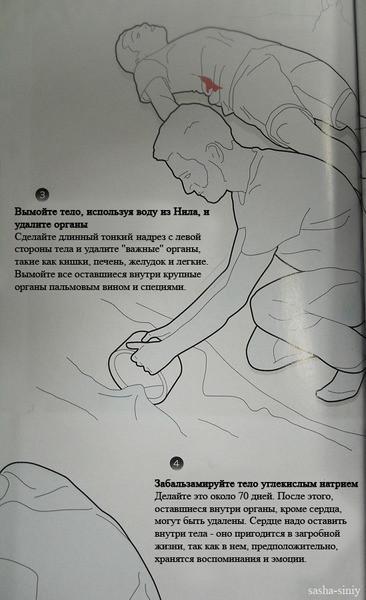 Как сделать из друга мумию наподобие египетской. Изображение № 3.