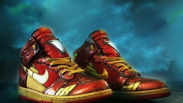 Iron Man и Nike. Изображение № 1.