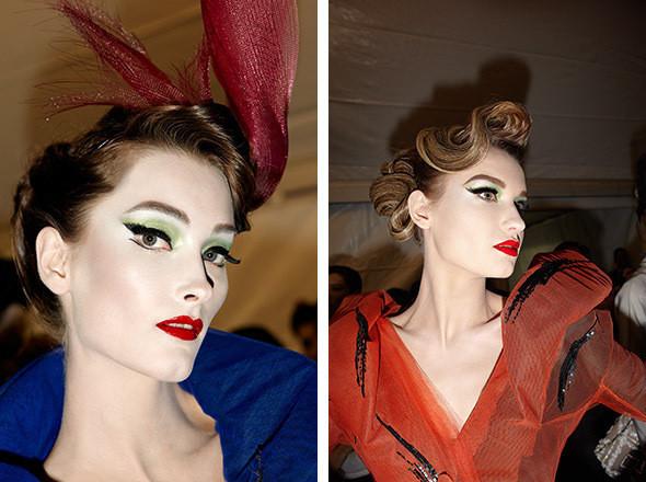 Изображение 6. Репортаж с бэкстейджа показа Dior Haute Couture SS 2011.. Изображение № 12.