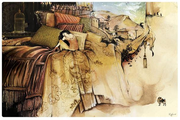 Иллюстрации для журнала и сайта «Сноб». Изображение № 2.