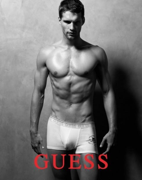 Кампания: Guess Underwear FW2011. Изображение № 2.