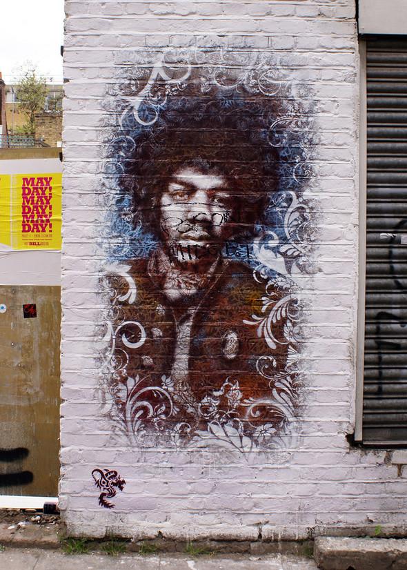 Стрит-арт в Лондоне. Изображение № 16.