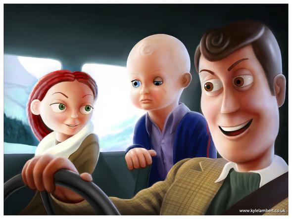 «История игрушек» в «Сиянии» Стенли Кубрика. Изображение № 3.