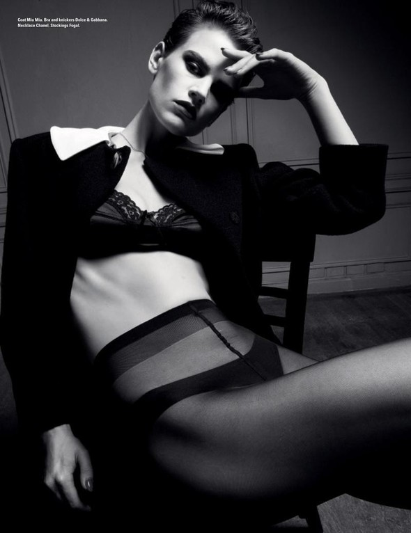 Съёмка: Саския де Брау для i-D. Изображение № 9.