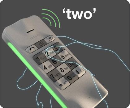 Мобильный телефон отTakumi Yoshida. Изображение № 3.