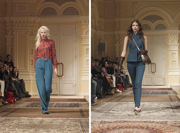 Изображение 2. A'la Russe FW 2011: пальто в пол и широкие брюки.. Изображение № 2.