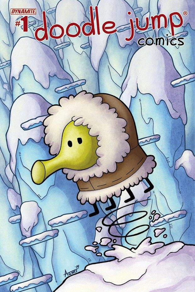 Комикс Doodle Jump объяснит, почему прыгает Дудлер. Изображение № 2.
