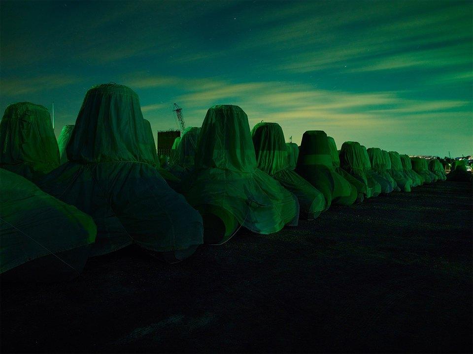 Фабрики из хоррора: ночная индустриальная фотография. Изображение № 2.