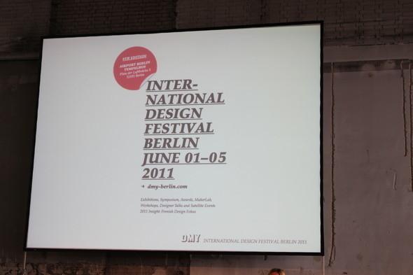Изображение 1. DMY International Design Festival 2011.. Изображение № 2.