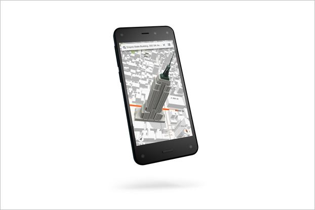 Amazon закрыла разработку своего смартфона Fire Phone. Изображение № 1.