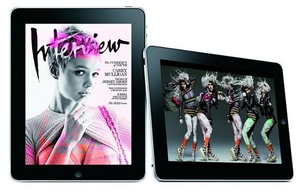 Журнал Interview первым появится на iPad. Изображение № 1.