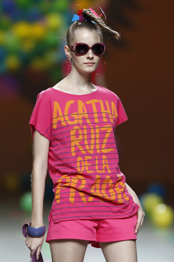 Madrid Fashion Week SS 2012: Agatha Ruiz de la Prada. Изображение № 16.