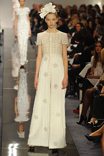 Chanel Spring 2009 Haute Couture. Изображение № 9.