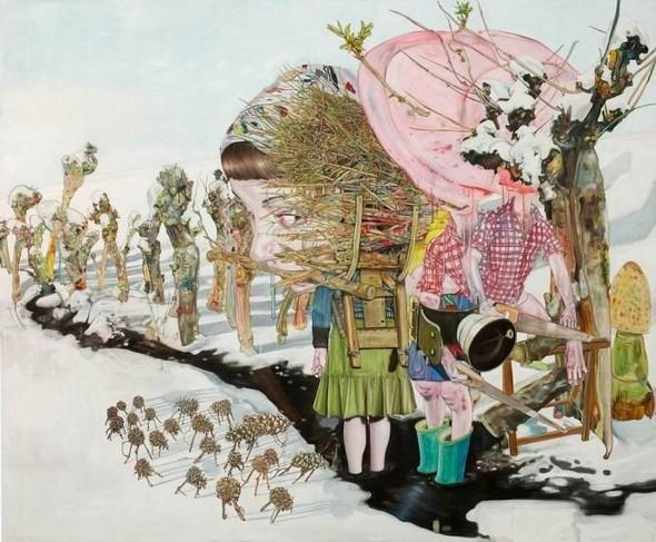 """""""Искусство расширенного сознания"""" в полотнах швейцарского художника. Изображение № 9."""