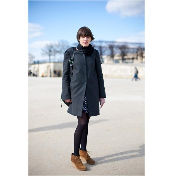 Луки с Недели моды в Париже. Изображение № 9.
