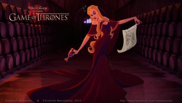 «Игру престолов» превратили в мультфильм Disney. Изображение № 4.