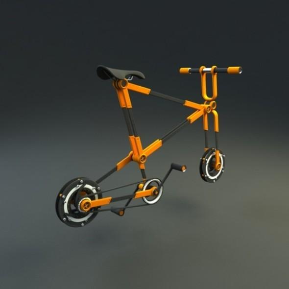 Складной велосипед отVictor M. Aleman. Изображение № 9.