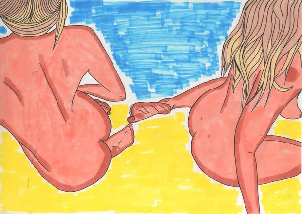 Иллюстрации маркером. Изображение № 1.