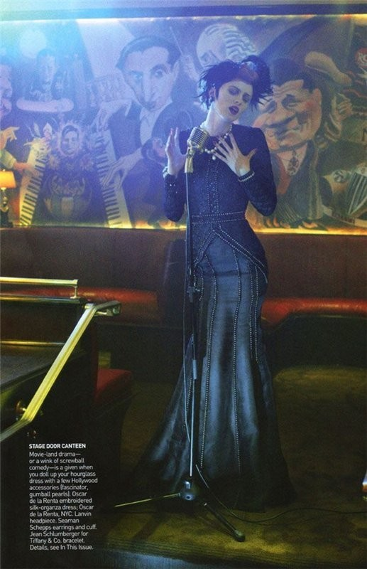 InThe Mood. Vogue US September 2009. Изображение № 9.