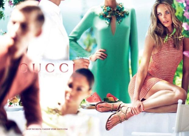 Вышли новые кампании Gucci, I am, Marella, Miu Miu, SLP и Versus. Изображение № 1.