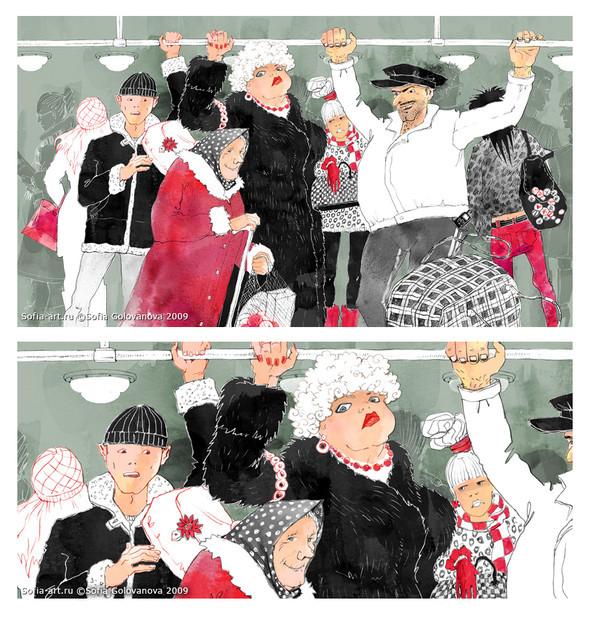 Иллюстратор Софья Голованова. Изображение № 4.