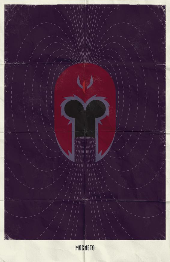 Минималистичные постеры для Marvel Comics. Изображение № 6.