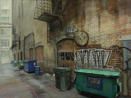 Кристофер Хофф. Рисует эти странные улицы. Изображение № 4.