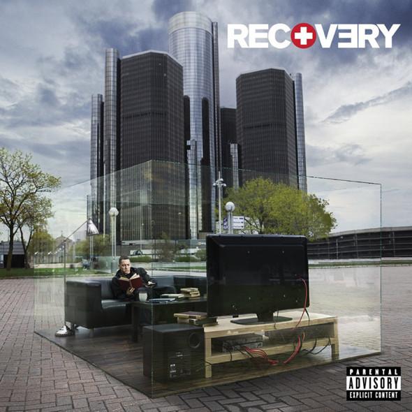 Обложка нового альбома Эминема — «Recovery». Изображение № 1.